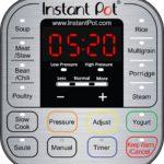 InstaPot control panel